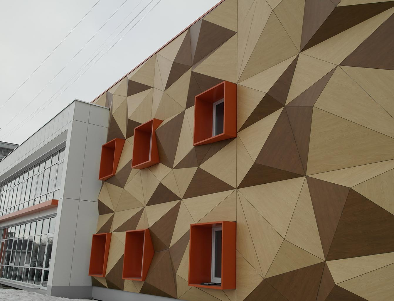 Rockpanel Exterior Cladding - Patchwork