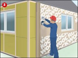 tilläggsisolera yttervägg luftspalt