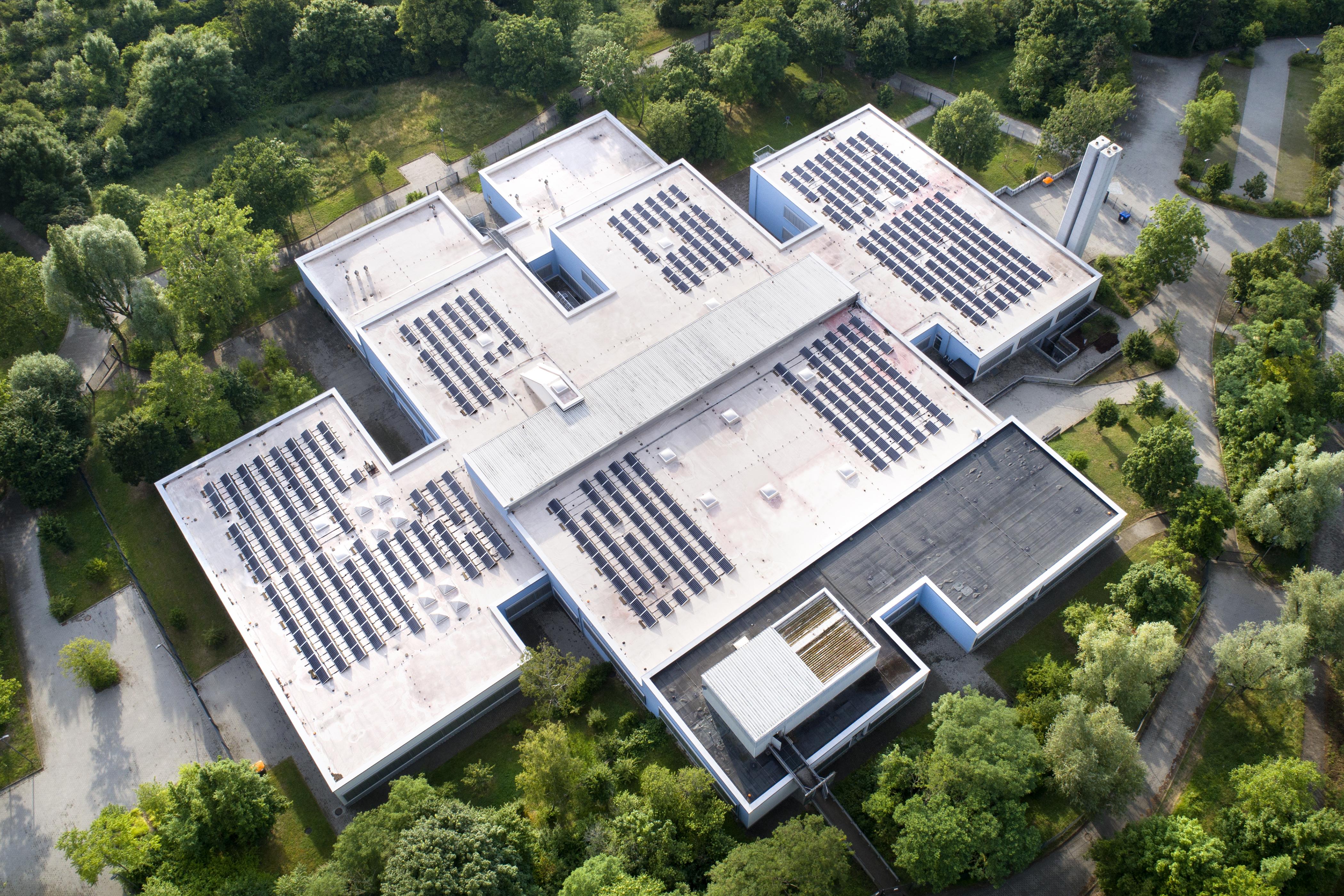 Posadowienie instalacji PV na budynku