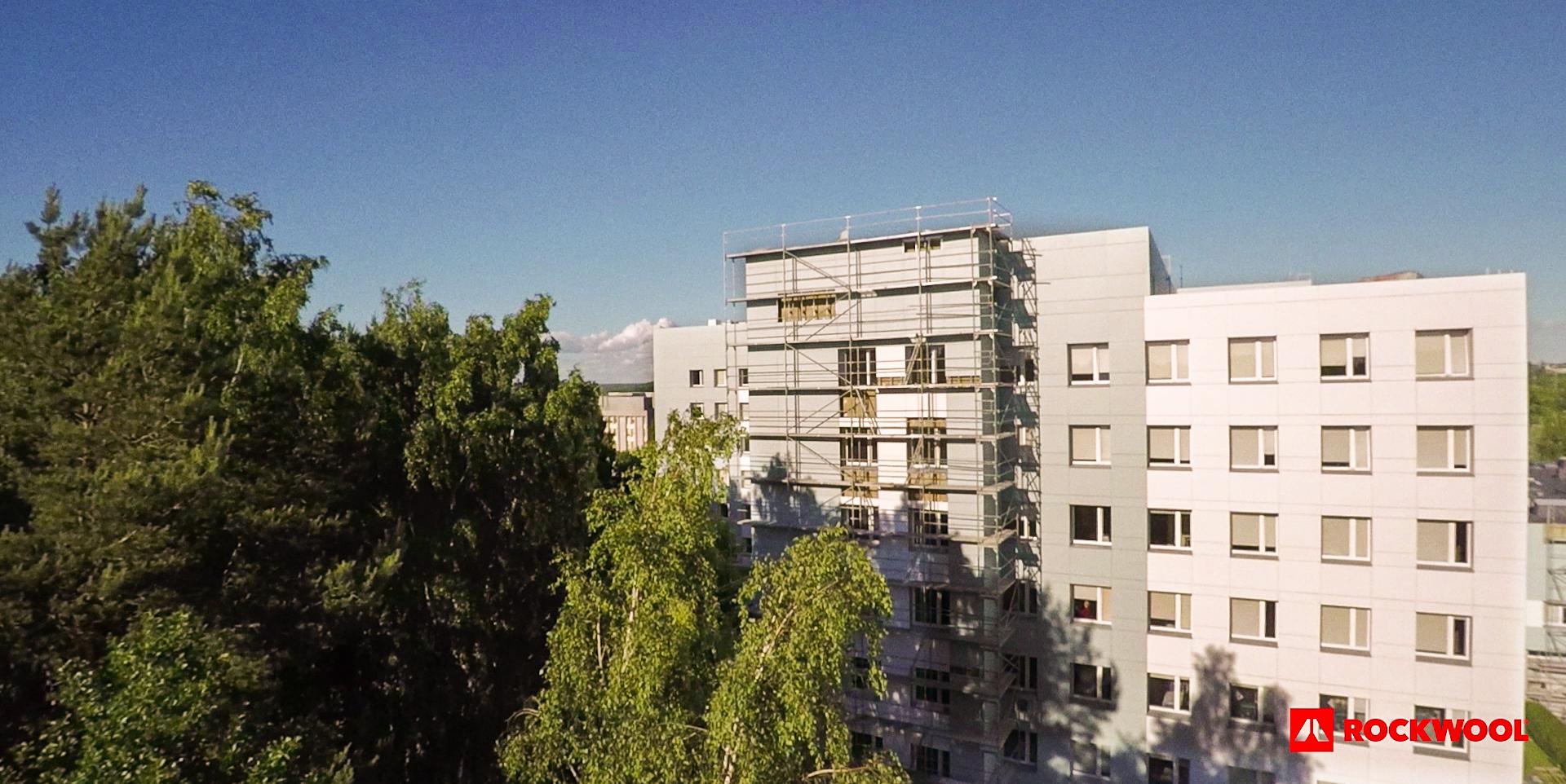 Bezpieczeństwo pożarowe elewacji w budynkach wielorodzinnych